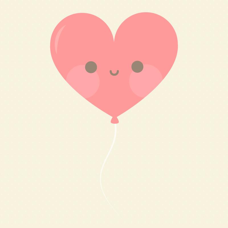 kawaii-heart-balloon