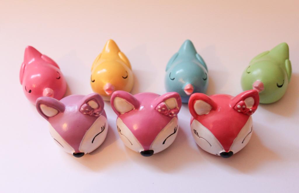 MIKI Fox & Birds Lip Gloss