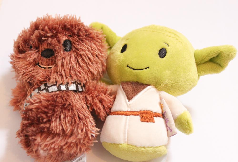 Itty Bitty Yoda & Chewbacca