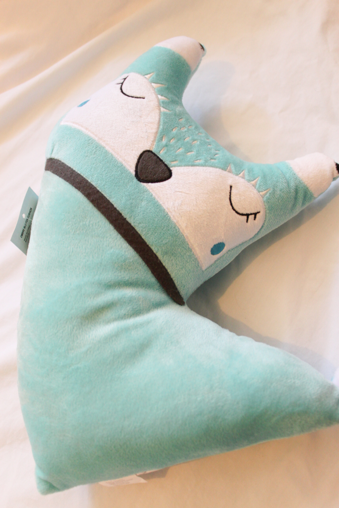 Blue Fox Cushion
