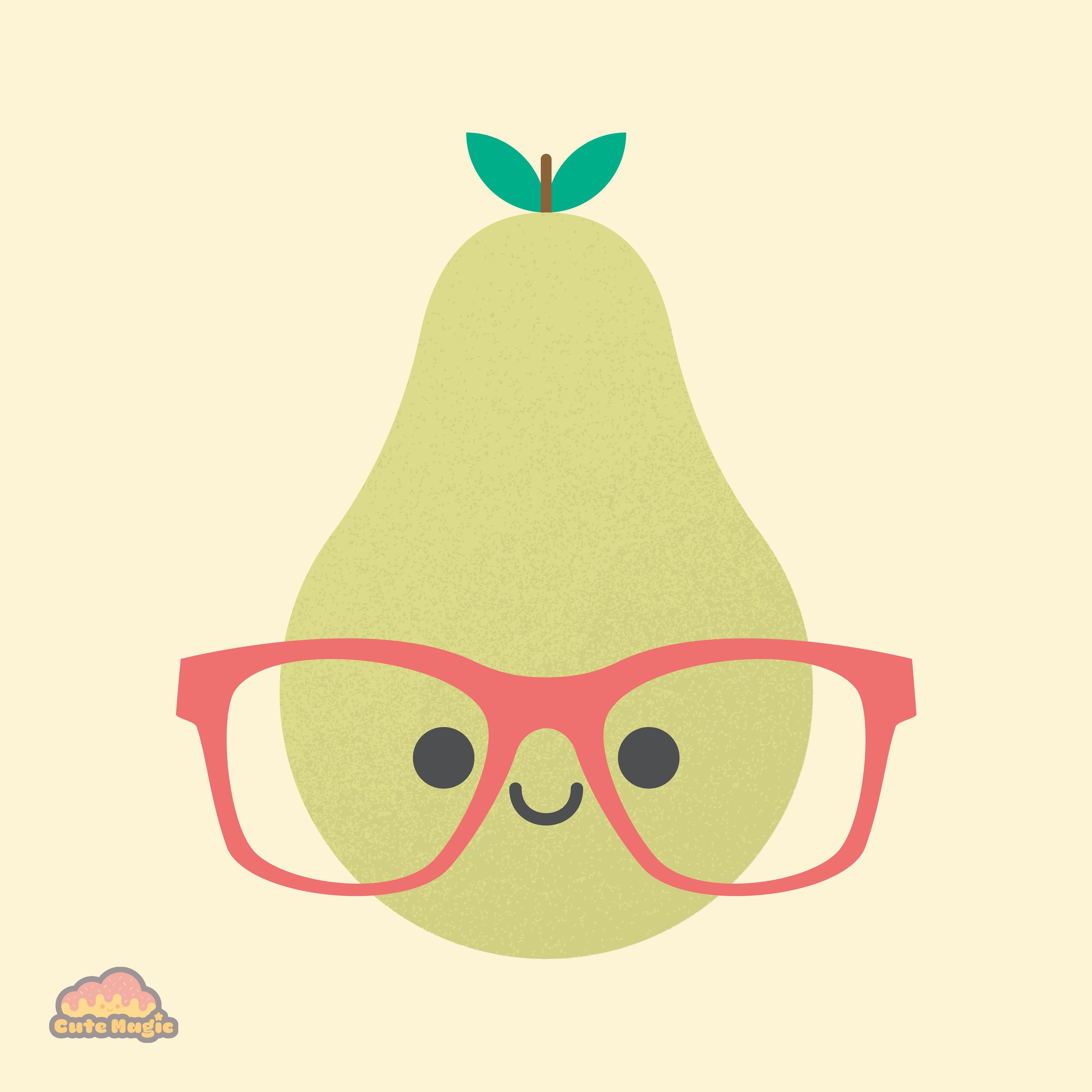 Cute Kawaii Pear