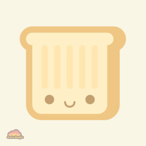 Cute Kawaii Toast