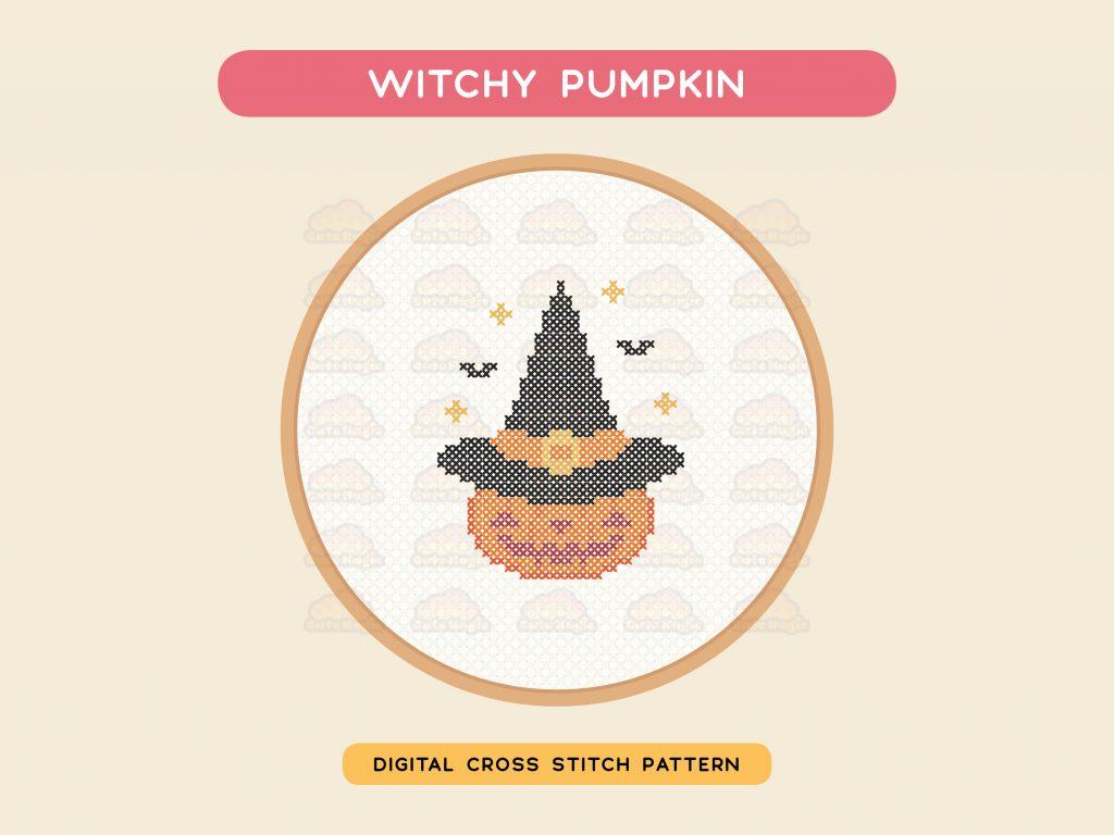 Spooky Halloween Cross Stitch Patterns