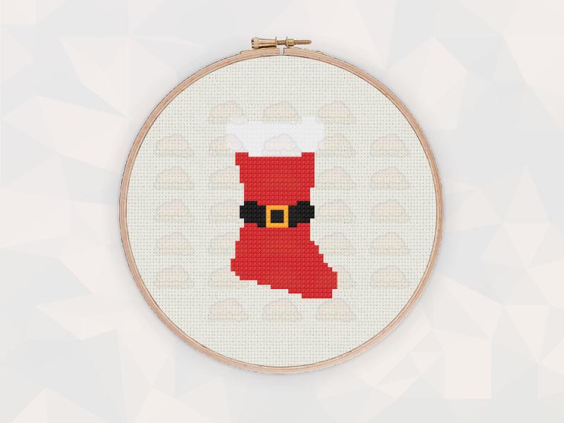 Christmas Cross Stitch Patterns: Christmas Stocking