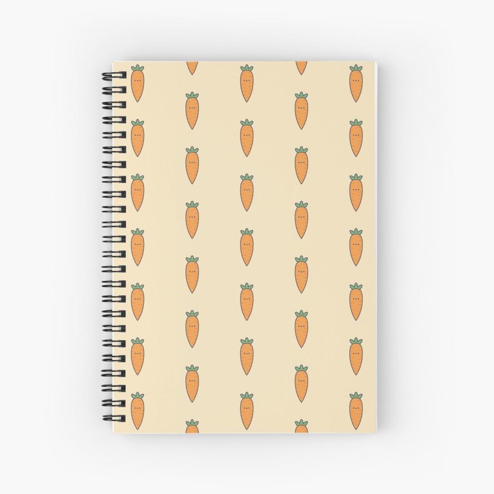Cute Kawaii Carrot Notebook