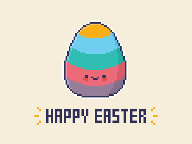Cute Kawaii Happy Easter 2021